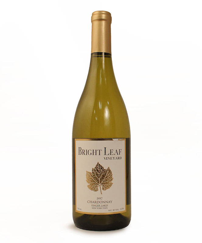 Bright Leaf, Chardonnay, Cayuga Lake, 750ml