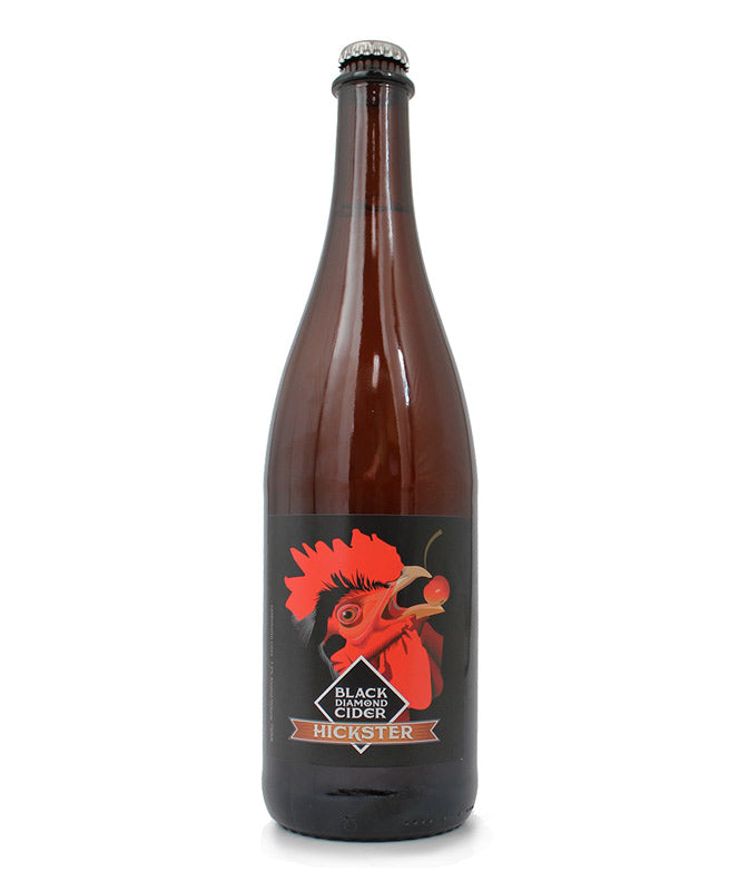 Black Diamond Hickster, Sparkling Cider, Cayuga Lake, 750ml
