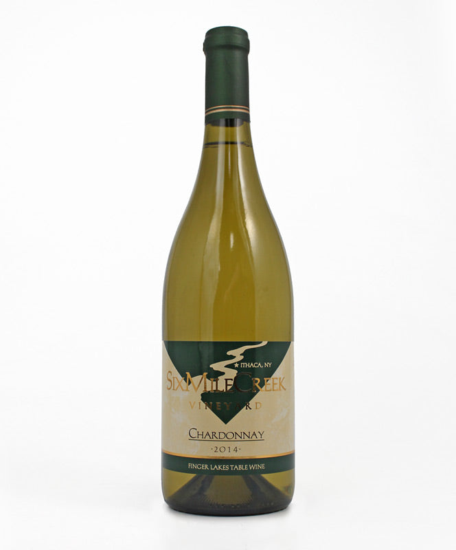 Six Mile Creek Winery, Chardonnay, Cayuga Lake, 750ml