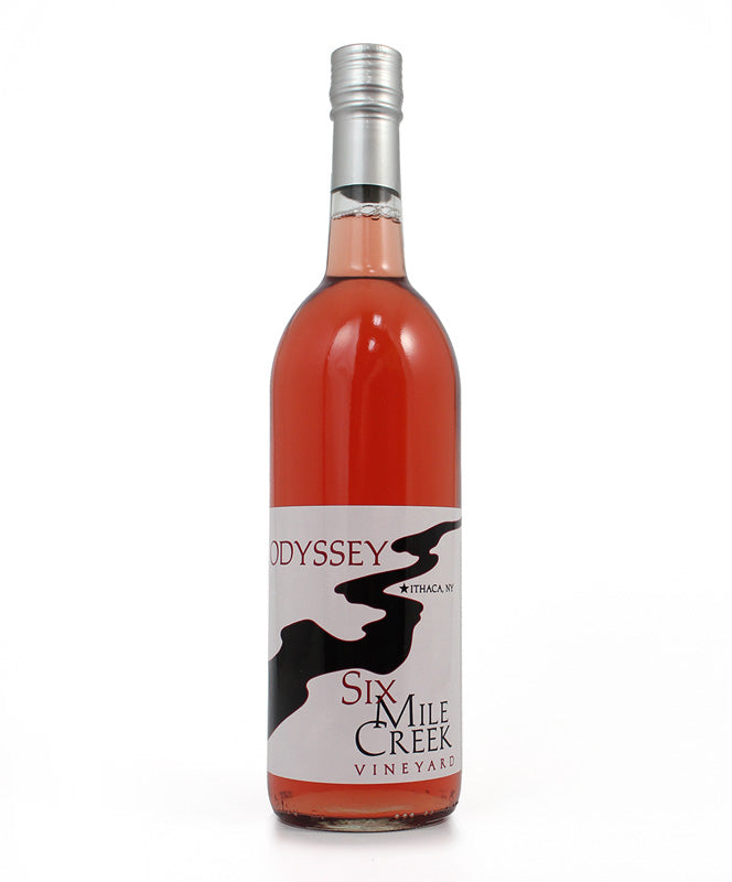 Six Mile Creek Winery, Odyssey, Cayuga Lake, 750ml