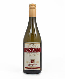 Knapp Vineyards, Barrel Reserve Chardonnay, Cayuga Lake, 750ml