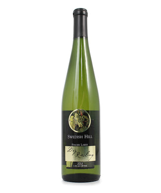 Swedish Hill, Dry Riesling, Cayuga Lake, 750ml
