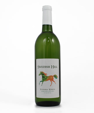 Swedish Hill, Svenska White, Cayuga Lake, 750ml