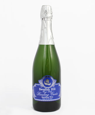 Swedish Hill, Riesling Cuvee Sparkling, Cayuga Lake, 750ml