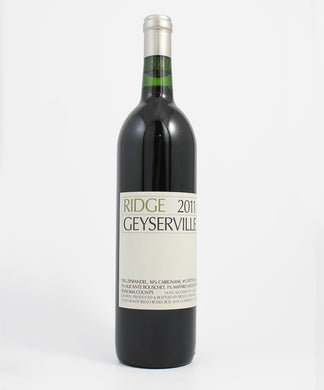 Ridge Vineyards, Geyserville Zinfandel, Alexander Valley, 750ml