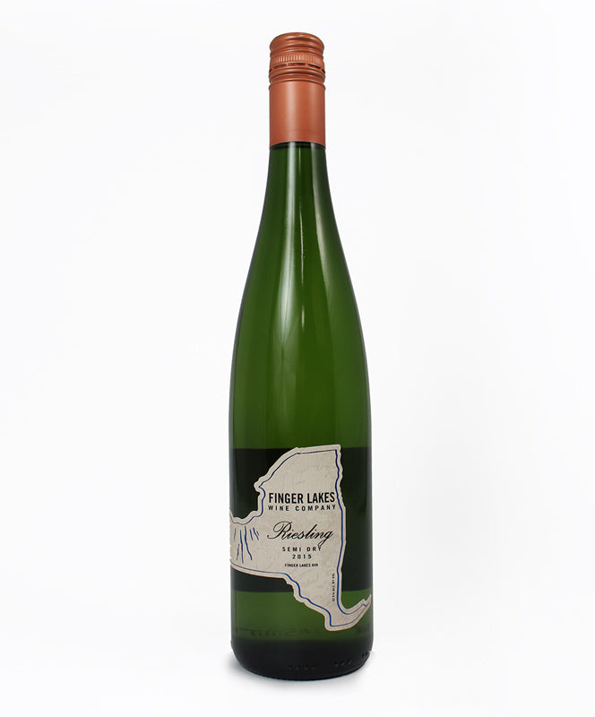 Finger Lakes Wine Co., Semi-Dry Riesling, Seneca Lake, 750ml