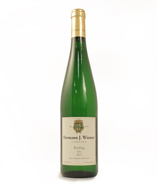 Hermann J. Wiemer, Dry Riesling, Seneca Lake, 750ml