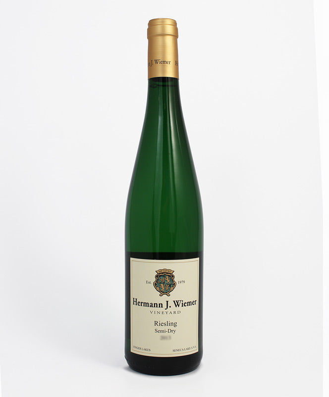 Hermann J. Wiemer, Semi-Dry Riesling, Seneca Lake, 750ml