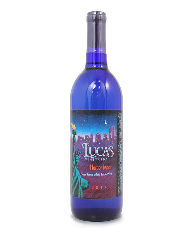 Lucas Vineyards, Harbor Moon, Cayuga Lake, 750ml
