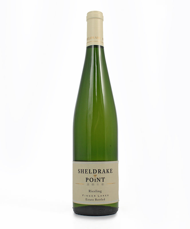 Sheldrake Point, Semi-Dry Riesling, Cayuga Lake, 750ml
