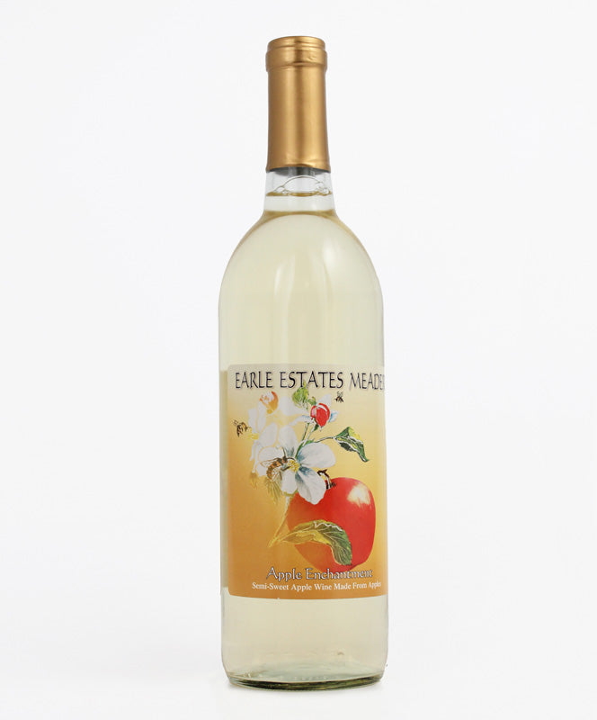 Earle Estates Meadery, Apple Enchantment, Seneca Lake, 750ml