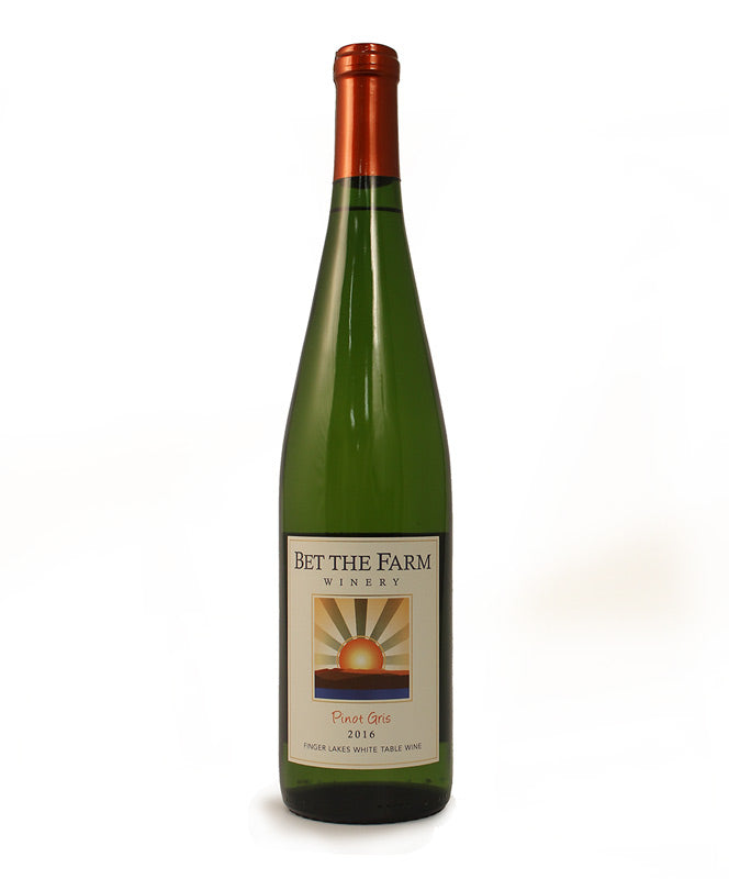 Bet the Farm, Pinot Gris, Cayuga Lake, 750ml