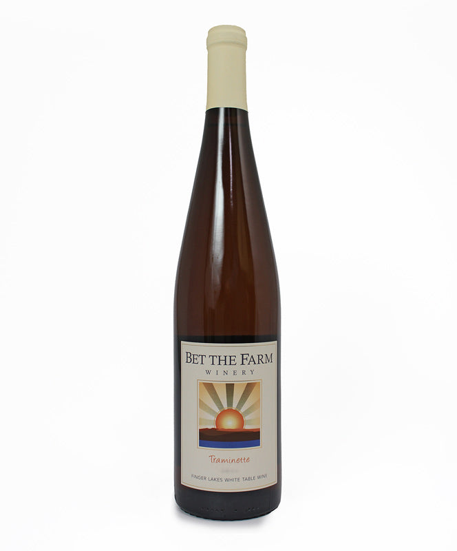 Bet the Farm, Traminette, Cayuga Lake, 750ml