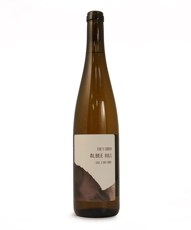 Eve's Cidery, Albee Hill, Still and Dry Cider, Cayuga Lake, 750ml