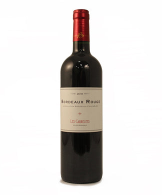 LES CARRELETS BORDEAUX ROUGE 750ML