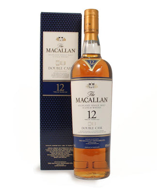 Macallan, Single Malt 12yr. Double Cask, Highland, 750ml