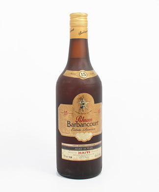 Rhum Barbancourt, 15 Year Old Reserve, Haiti, 750ml