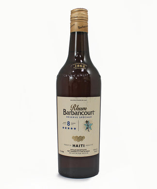 Rhum Barbancourt, 5 Star Reserve Speciale Rum, Aged 8 Years, Haiti, 750ml