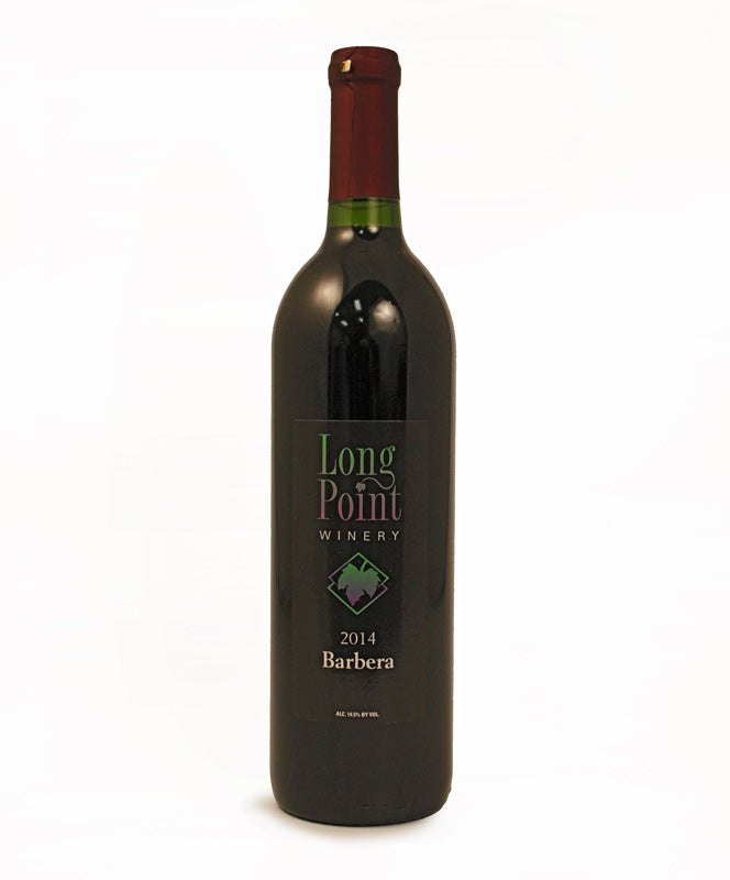 Long Point Winery, Barbera, Cayuga Lake, 750ml