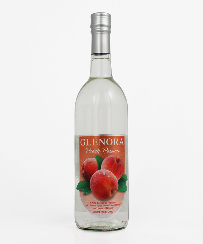 Glenora Cellars, Peach Passion, Seneca Lake, 750ml