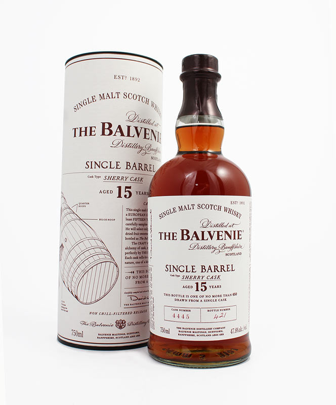 Balvenie, Single Barrel 15yr., Highland, 750ml