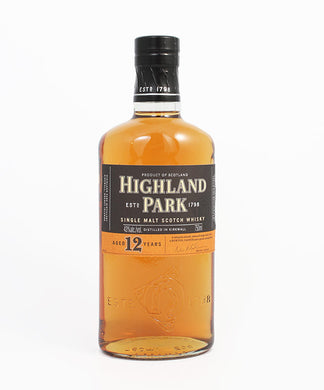 Highland Park, Single Malt 12yr., Orkney Islands, 750ml