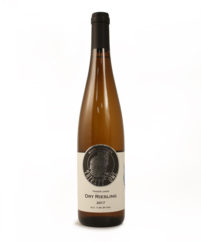Thirsty Owl, Dry Riesling, Cayuga Lake, 750ml