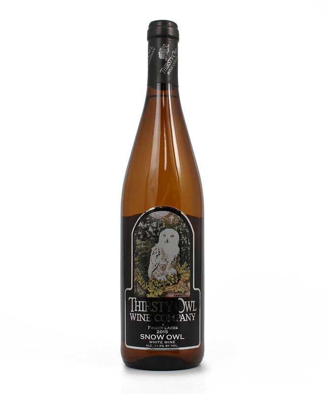 Thirsty Owl, Snow Owl, Cayuga Lake, 750ml