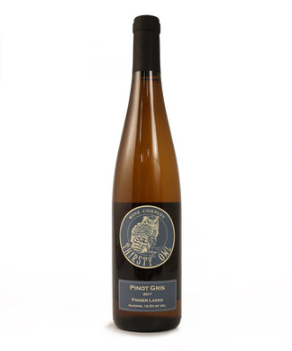 Thirsty Owl, Pinot Gris, Cayuga Lake, 750ml
