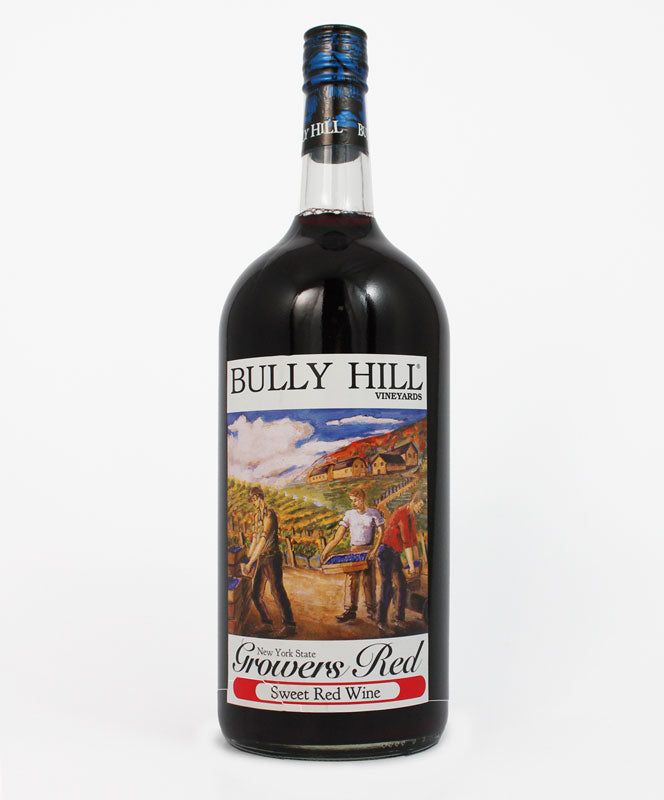 Bully Hill, Grower's Red, Keuka Lake, 1.5L