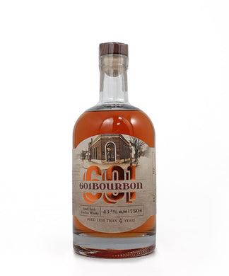 Adirondack Distillery, 601 Bourbon Whiskey, New York, 750ml