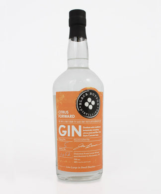 Black Button Distilling, Citrus Forward Gin, Finger Lakes, 750ml