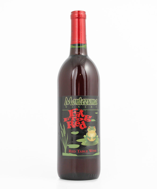 MONTEZUMA WINERY FAT FROG RED 750ML