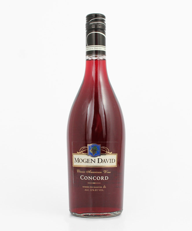 Mogen David, Concord, Kosher, Canandaigua, 750ml