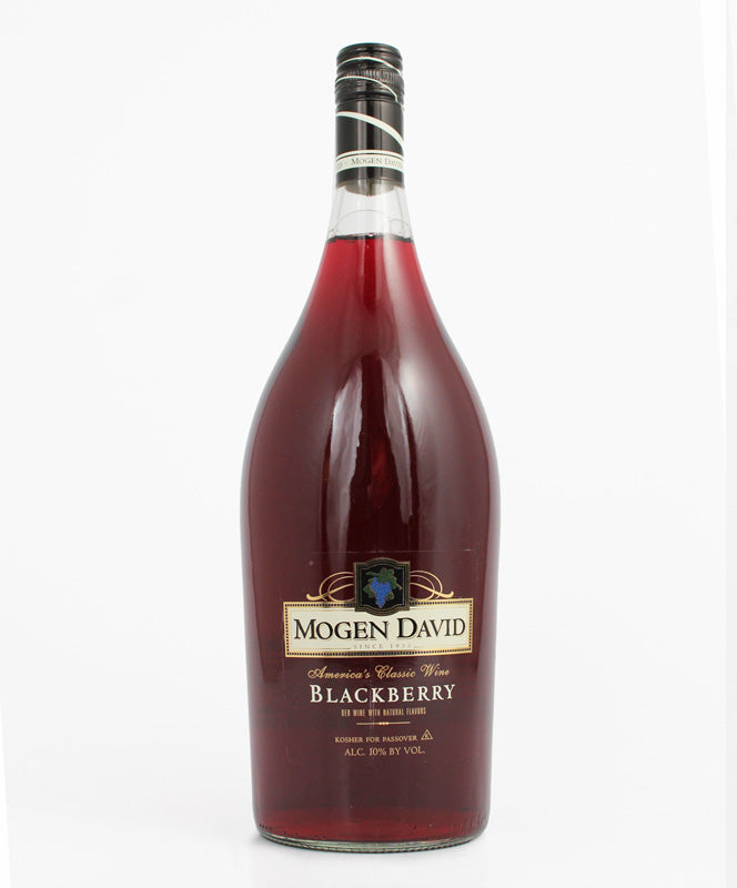 Mogen David, Blackberry, Kosher, Canandaigua, 1.5L