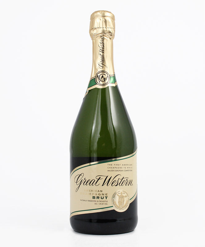 Great Western, Brut Sparkling, Keuka Lake, 750ml