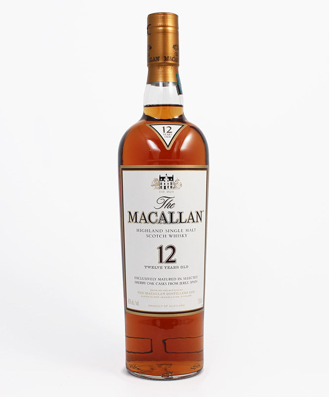 Macallan, Single Malt 12yr. Sherry Oak, Highland, 750ml