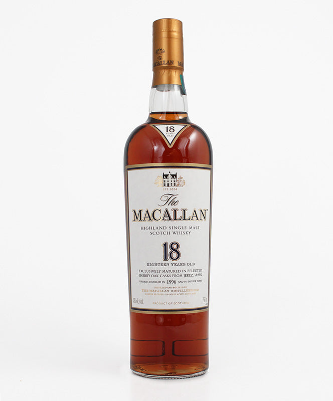 Macallan, Sherry & Oak 18yr., Highland, 750ml
