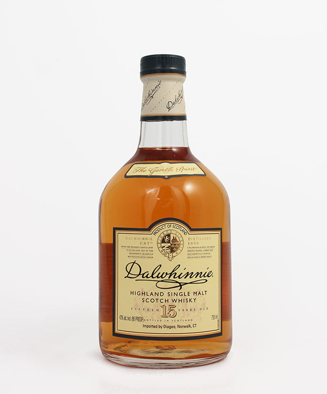 Dalwhinnie, Single Malt 15yr., Highland, 750ml