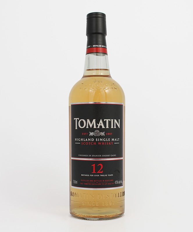Tomatin, Single Malt 12yr., Highland, 750ml