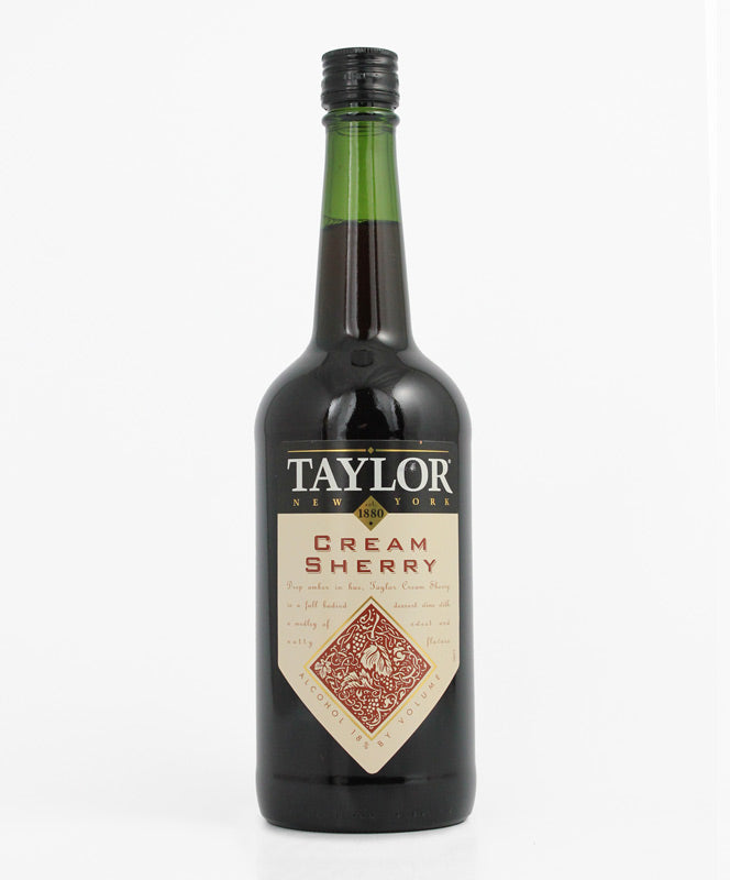 TAYLOR WINERY CREAM SHERRY 750ML