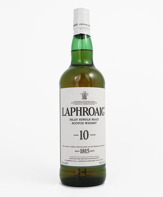 Laphroaig, Single Malt 10yr., Islay, 750ml