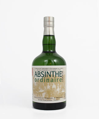 Absinthe Ordinaire Liqueur, Provence, France, 750ml