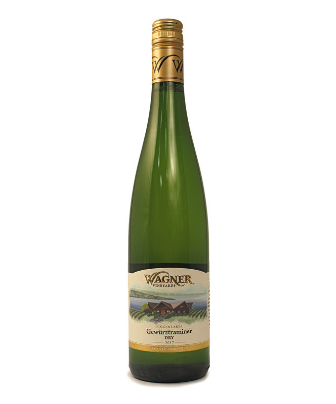 Wagner Vineyards, Dry Gewurztraminer, Seneca Lake, 750ml