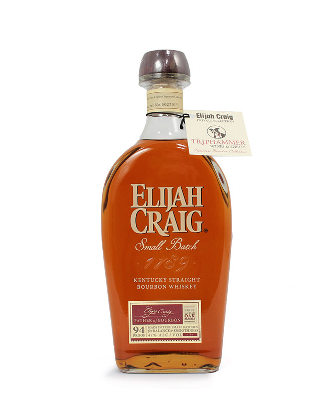 Elijah Craig, Small Batch Bourbon, 750ml