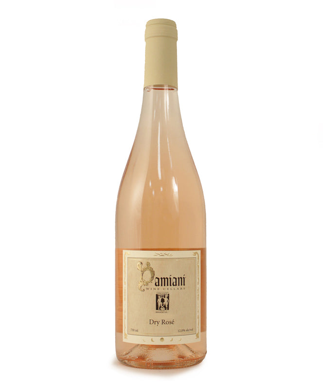 Damiani Wine Cellars, Dry Rose, Seneca Lake, 750ml