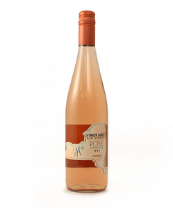 Finger Lakes Wine Co., Rose of Pinot Noir Seneca Lake, 750ml
