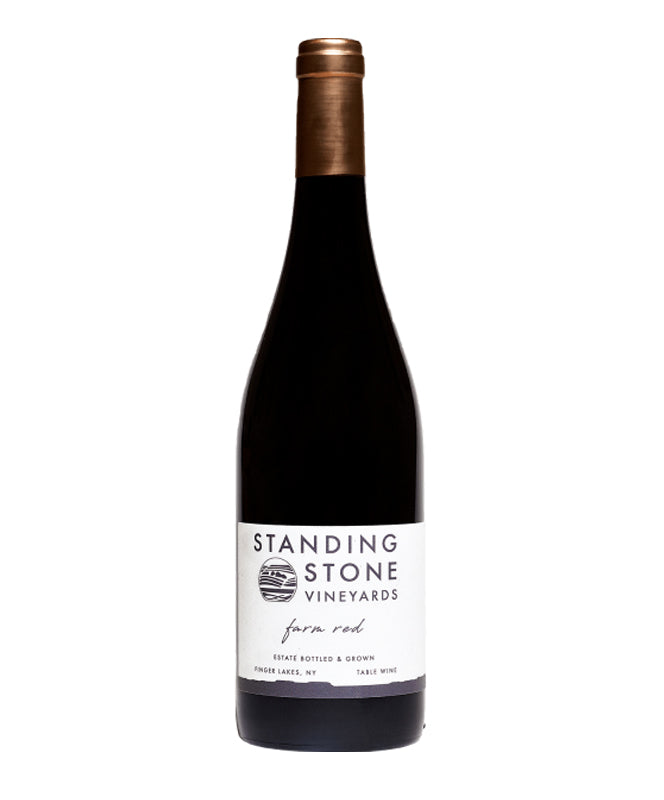 Standing Stone, Farm Red, Seneca Lake, 750ml