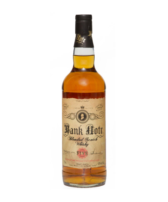 BANK NOTE 5YR BLENDED SCOTCH 86 750ML