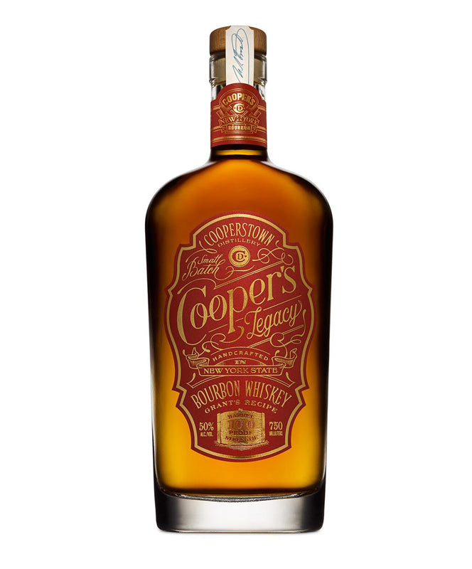 Cooperstown Distillery, Cooper's Legacy Bourbon, New York, 750ml